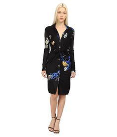 Embrace a dazzling future with the fabulous look of this Versace Collection® dress.. Sheath silhou...