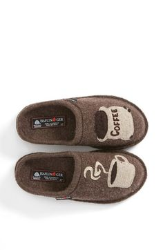 Haflinger 'Coffee' Slipper | Nordstrom