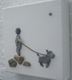 Piękne, a zarazem nietypowe zastosowanie kamieni w dekoracje domu. Zrób to sam