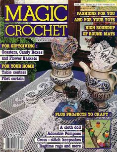 Magic Crochet Nº 36 - Nadia Petrowa - Álbuns da web do Picasa..FREE MAGAZINE!