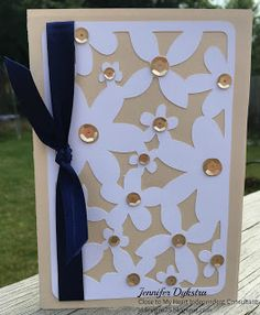 jd designs - CTMH Artfully Sent Cricut Collection Bridal Shower / Wedding card