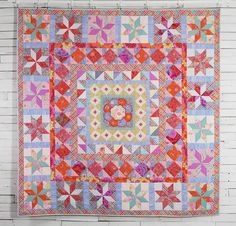 Rowan Kaffe Fassett Collective Imari Plate Quilt - White