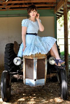 Country Girl Outfit, via Flickr