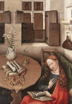 Robert Campin (1375 – 1444), usually identified as the Master of Flémalle - Detail