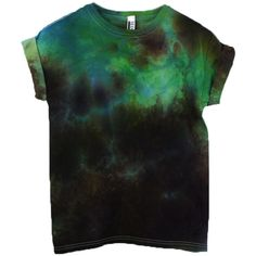 Green Burning Man Tie Dye T-Shirt, Festival Plus Size Tshirt, Desert... ($33) ❤ liked on Polyvore featuring tops, t-shirts, tie dye shirts, green shirt, women's plus size shirts, tie-dye shirts and t shirt
