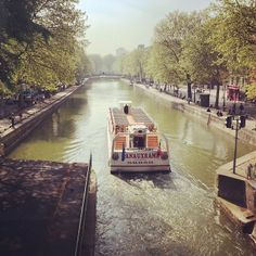 Le canal St-Martin sous le soleil