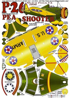 Playing and Crafting: Pea Shooter P-26