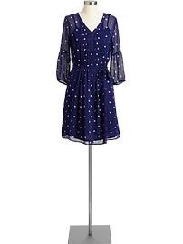 35 dollars at Old Navy.  It is sheer, light and perfect for spring!  I'm wearing mine with a wide brown belt. . .