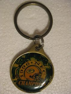 Green Bay Packers Keychain  #GreenBayPackers Packers Memes, Packers Funny, Packers Football, Green Bay Packers, Pocket Watch, Clothing, Quotes, Crafts, Ebay