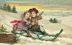 Gratis Vintage julbilder - gamla julbilder