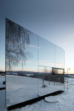 ideasgn:    Prefab Invisible House by DMAA