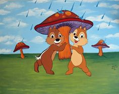 chip and dale rain