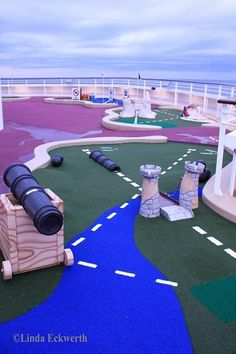 Wait, there's mini golf on the disney dream? I may reconsider cruises.