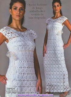 DE MIS MANOS TEJIDOS Y MAS...: Vestidos tejidos a crochet