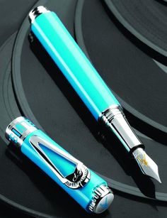 Fountain Pen Network - Philippines - Montegrappa Elvis Presley Green & vermeil LE