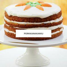 porkkanakakku Vanilla Cake, Tiramisu, Oreo, Cheesecake, Pudding, Yummy Food, Baking, Ethnic Recipes, Desserts