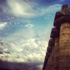 sky + temple