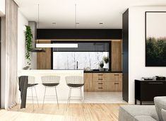Klarowny D55 - zdjęcie 3 House Plans, Divider, Architecture, Furniture, Home Decor, Houses, Arquitetura, Decoration Home, Room Decor