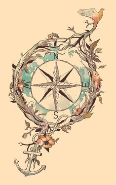 awesome tattoo design. really hitting the indie fad. but i like it.