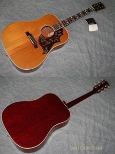 1968 Gibson Hummingbird (#GIA0803) Natural Top, Excellent, Original Soft, $4,995.00 (via Gbase.com)