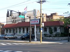 VIP Diner, 175 Sip Ave. Jersey City, 1974.  Picture dated 2008.