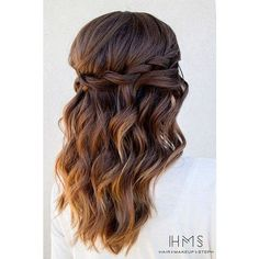 33 Favourite Wedding Hairstyles For Long Hair ❤ liked on Polyvore featuring beauty products, haircare and hair styling tools