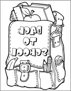 Best Kindergarten First Day Of School Coloring Sheet http