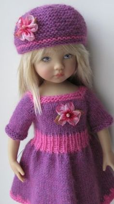 Knitted Outfit for a doll