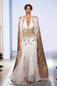 Cape Dress | Zuhair MuradSpring Summer 2013 #Fashion #Trends