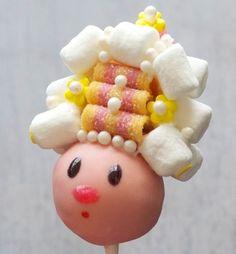 Marie Antoinette Cake Pop!!
