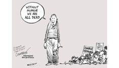 Top 10 Illustration Artists Response to Charlie Hebdo Attack 03 Chappatte Cartoons #illustration #art #creative #design #inspiration