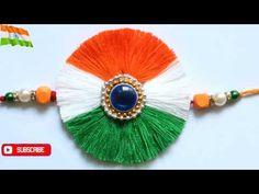 Diy Indian tricolor rakhi/rakhi making ideas/new Indiam tricolor rakhi design/thread rakhi ideas/Independence craft ideas/ independence day Independence Day Background, Indian Independence Day, Happy Independence Day, Craft Work For Kids, Art For Kids, Crafts For Kids, Diy Arts And Crafts, Paper Crafts, Diy Crafts
