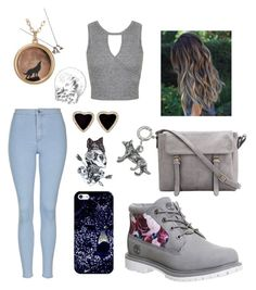 """""""You hunt me down. like a wolf, a predator ❤"""" by mariahm0803 on Polyvore featuring Topshop, Miss Selfridge, Timberland, Lauren Wolf, Casetify, women's clothing, women, female, woman and misses"""