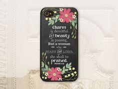 Proverbs 3130 phone case iPhone 4 4S 5 5s 5c by LilStinkerDesign, $17.99