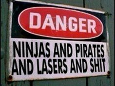 This sign should be on my husband's head ...