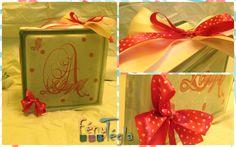 Abigél szobájába készült dekoráció. Sajnos ma meggyűlt a bajom a fényekel, nem nagyon szerettek engem, de mlg küldés előtt gyorsan le akartam mindenképpen fényyképezni :)  #fénytégla #babaszoba #éjjelifény #kislány Gift Wrapping, Gifts, Gift Wrapping Paper, Presents, Wrapping Gifts, Favors, Gift Packaging, Gift
