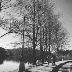 Caminhada no lago