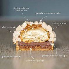 Gourmet Desserts, Vegan Dessert Recipes, Pastry Recipes, Tart Recipes, Mini Desserts, Sweet Recipes, Baking Recipes, French Desserts, Dessert Drinks