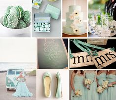 mint green theme wedding - 2013 Wedding Trend Watch | John M.S. Lecky UBC Boathouse. Richmond, BC www.ubcboathouse.com