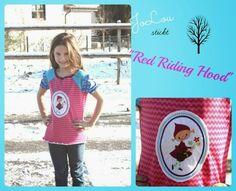 Antonia von farbenmix bestickt mit Red Riding Hood von Nadelflüsterer
