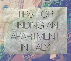 How to find an apartment in Italy for university, study abroad, grad school, moving to Italy, etc. Best Places To Move, Moving To Italy, Student Jobs, Italy Travel, Italy Trip, Italy Vacation, Living In Italy, Milan Italy, Florence Italy