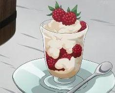 Black Butler - Sebastian's Very Own Cookbook - Fresh Raspberry Parfait