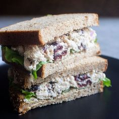 Whole Foods Cranberry Tuna Salad - Coco and Ash Healthy Meals To Cook, Healthy Food List, Good Healthy Recipes, Whole Food Recipes, Easy Meals, Healthy Eating, Nutritious Meals, Healthy Foods, Copycat Recipes