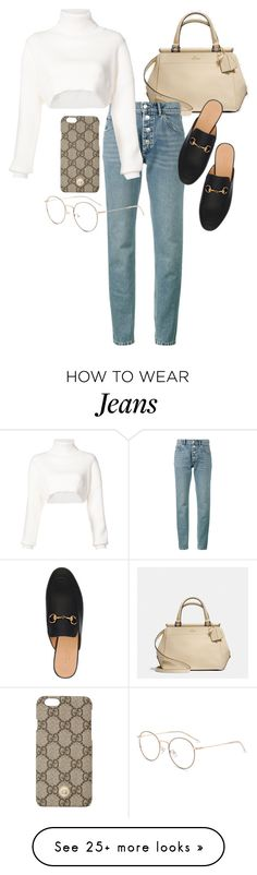 """Untitled #23488"" by florencia95 on Polyvore featuring Coach, Balenciaga, Alexandre Vauthier and Gucci"