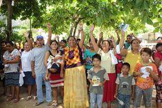 Mi palabra es el compromiso que asumo con Juchitán: Gloria Sánchez.