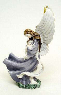 Roman Guardian Angel Figurine