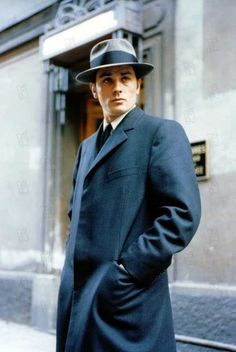 This is the look I've been trying to get right since I was 16. Alain Delon | Le Samourai (1967)