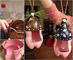 Creative Ideas - DIY Plastic Bottle Bird Feeder