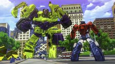 New Cel-Shaded 'Transformers: Devastation' Leaked  With the build up to this year's E3 we've already started to see a few leaks. With one of these being for the cel-shaded brawler Transformers: Devastation.  The main narrative premise of the game has the Autobots take on the Decepticons when Megatron finds a way to collect the huge power of plasma energy to cyberform the Earth.  What's more the game will feature five playable Autobots in the form of Optimus Prime, Bumblebee, Sideswipe…