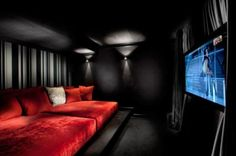 20 Home Cinema Room Ideas | Pinterest | Small spaces, Theatre design ...